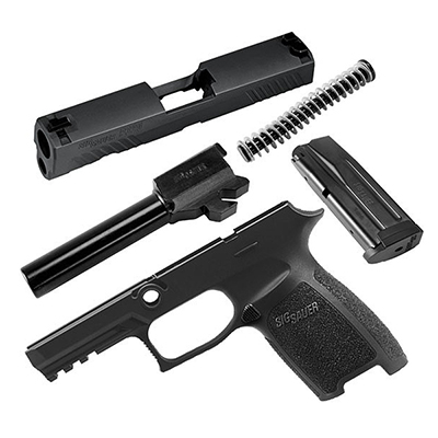 Sig Sauer P320 Carry 9mm Black Caliber X-Change Kit CALX-320CA-9-BSS