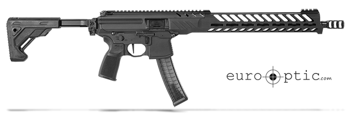 Sig Sauer SIG MPX, 9mm, Rifle, 16in, Competition, Blk, Semi, Fold Tele, Al MLOK Hg, Carbine Pistol RMPX-16B-9