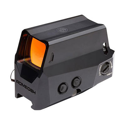 Sig Sauer Romeo8H Red Dot Sight Ballistic Circle Dot 0.5 MOA Hex Bolt Mount Black SOR81001
