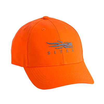 Sitka Blaze Orange Ballistic Cap One Size Fits All 90083-BL-OSFA