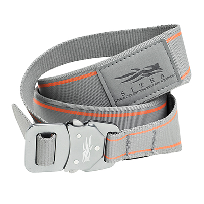 Sitka Bomber Belt Woodsmoke Medium|90155-WS-M