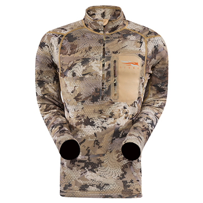 Sitka Core Midweight Waterfowl Zip-T 10036 Sitka-10036-WL-PARENT