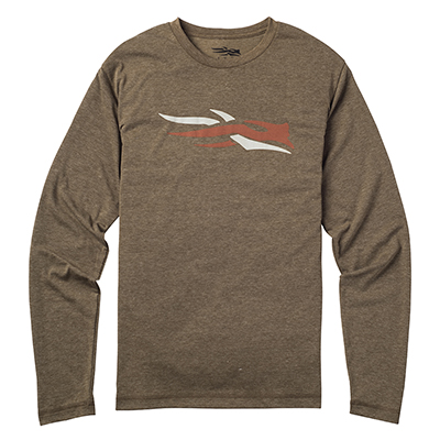 Sitka Logo Long Sleeve Mid Tee 20045 Sitka-20045-MD-PARENT
