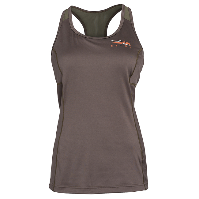 Sitka Women's Core Active Tank Bark 10059-BA
