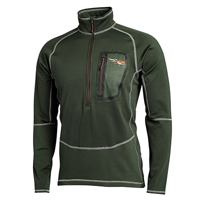 Sitka Core Heavyweight Zip-T 10039
