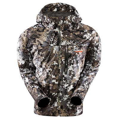 Sitka Elevated II Downpour Jacket Optifade Elevated II Large 50190-EV-L