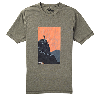 Sitka Element Tee Big Game SS Pyrite Small 20060-PY-S