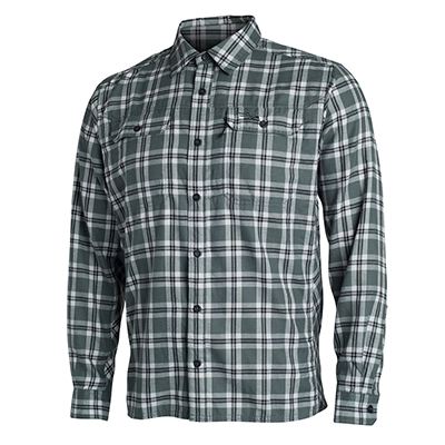Sitka TTW Frontier Shirt Lead Plaid 80011-LP