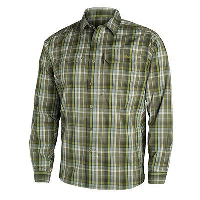 Sitka TTW Globetrotter Shirt LS Cargo Plaid Small 80002-CP