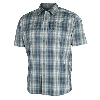 Sitka TTW Globetrotter Shirt SS Shadow Plaid 80003-SP