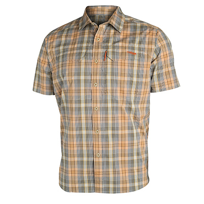 Sitka TTW Globetrotter Shirt SS Shadow Plaid 80003-TP