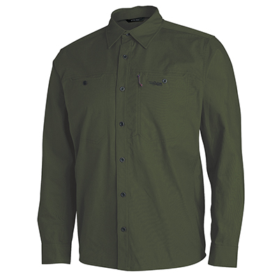 Sitka TTW Harvester Shirt Deep Olive Large 80010-DO-L
