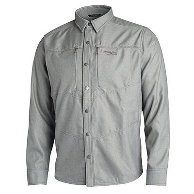 Sitka TTW Highland Overshirt Granite 80015-GT