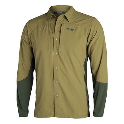 Sitka TTW Scouting Shirt Granite Small 80004-GT-S