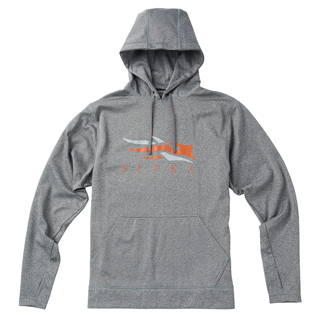 Sitka Sitka Logo Hoody Heather Grey 20044-HG