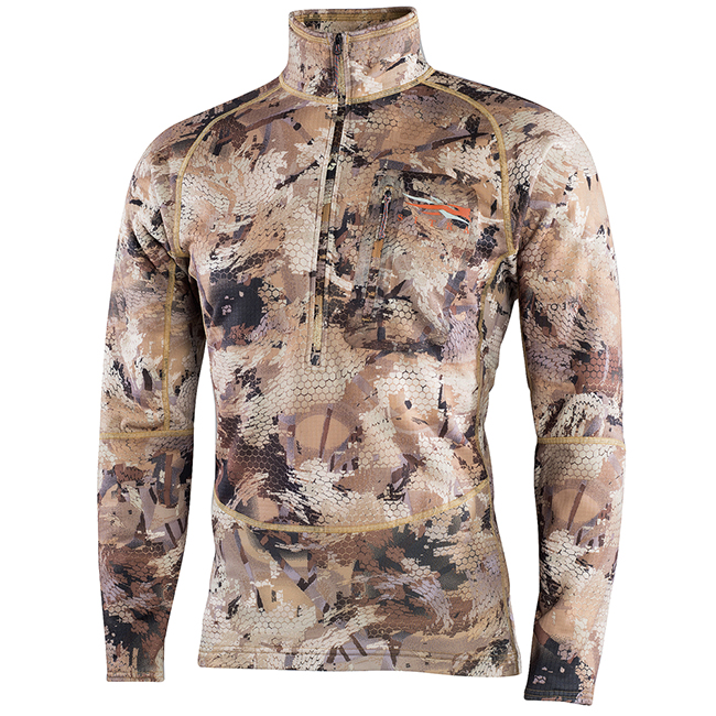 Sitka Grinder Half-Zip Optifade Waterfowl 70020-WL