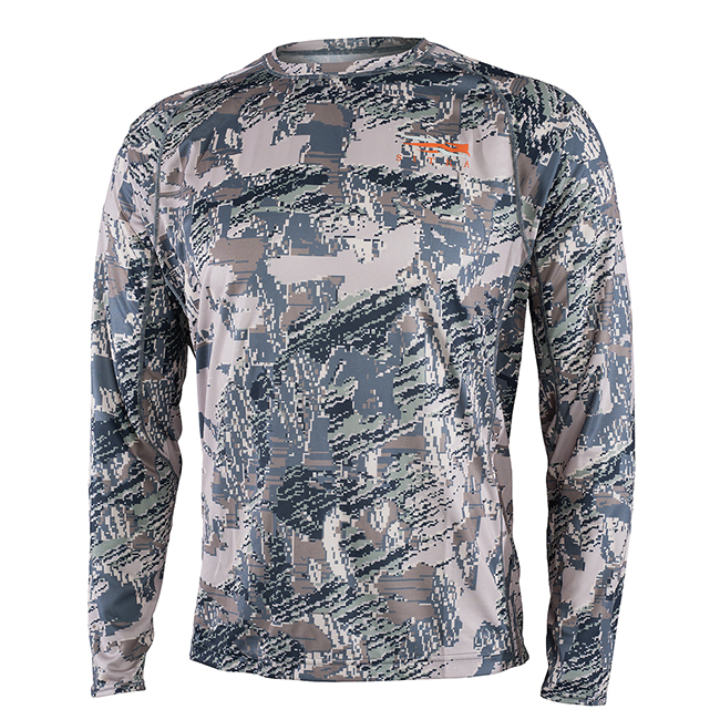 Sitka CORE Lt Wt Crew - LS Optifade Open Country 10064-OB