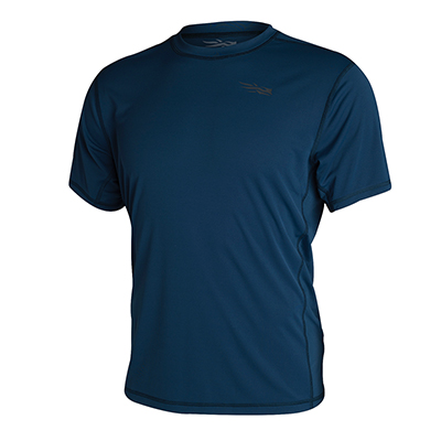 Sitka TTW Redline Performance Shirt SS Midnight 80001-MT