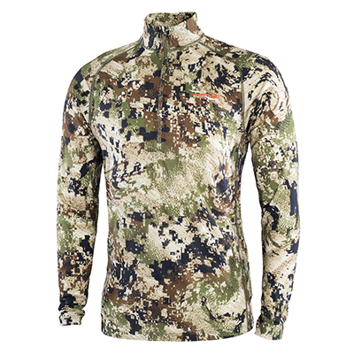 Sitka Subalpine Merino CORE Ltwt Half-Zip Optifade Subalpine Small 10056-SA-S