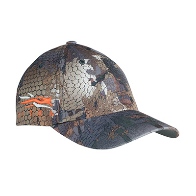 Sitka Timber Sitka Cap W/Side Logo Optifade Timber One Size Fits All 90102-TM-OSFA
