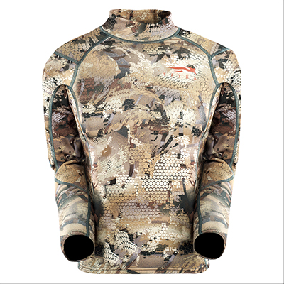 Sitka Youth Core Midweight Waterfowl Mock T 10042 Sitka-10042-WL-PARENT