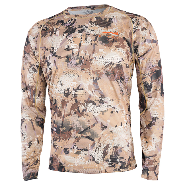 Sitka CORE Lt Wt Crew - LS Optifade Waterfowl 10064-WL