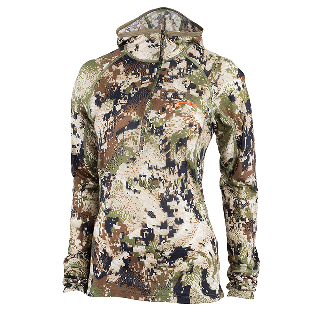 Sitka Women''s Merino Core Lt Wt Hoody Optifade Subalpine 10061-SA