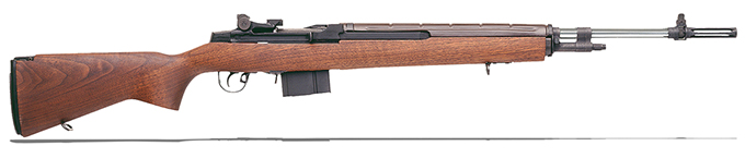 "Springfield M1A 22"" OVERSIZE WALNUT STAINLESS BBL SA9802"