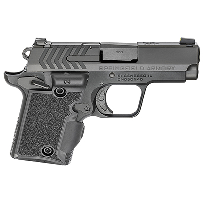 "Springfield Armory 911 9mm 3"" Nitride, Green Viridian Grip Laser Pistol (w/ 2 Magazines) PG9119VG"