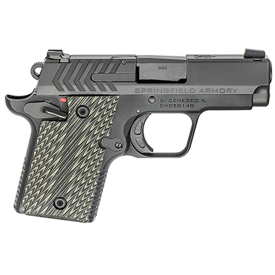 "Springfield Armory 911 9mm 3"" Nitride Pistol (w/ 2 magazines) PG9119"
