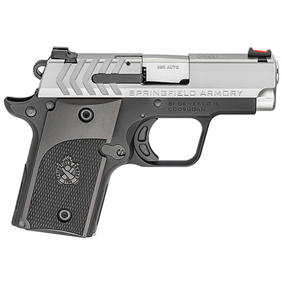 Springfield Armory 911 .380 ACP Alpha Stainless Pistol (w/ 1 magazine) PG9108S