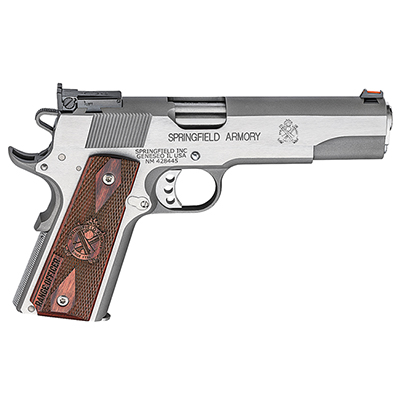 "Springfield 1911-A1 5"" 9MM RANGE OFFICER STAINLESS PI9122L"