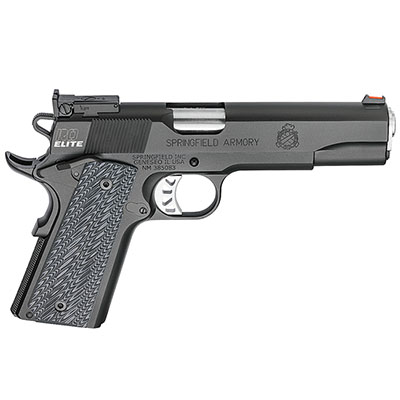 "Springfield Armory 1911 Range Officer Elite .45ACP 5"" (2) 7rd Mags Black-T PI9128ER"