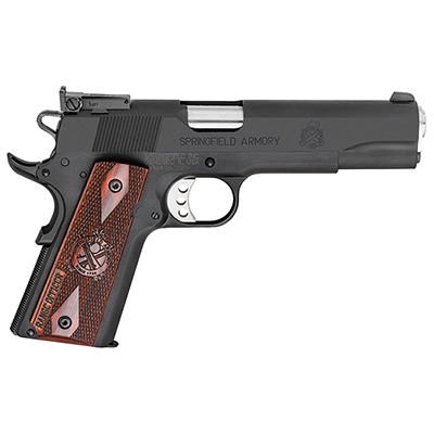 "Springfield 1911-A1 5"" 9MM RANGE OFFICER PARKERIZED PI9129L"