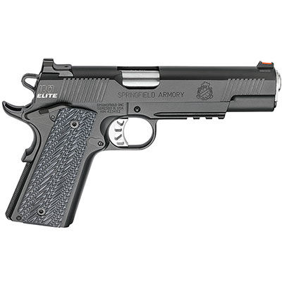 "Springfield Armory 1911 Range Officer Elite Operator 9MM 5"" (2) 9rd Mags Black-T PI9130E"