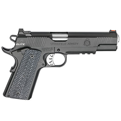 "Springfield Armory 1911 Range Officer Elite Operator .45ACP 5"" (2) 7rd Mags Black-T PI9131ER"