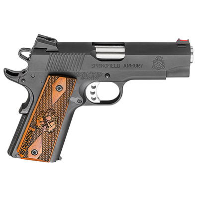 "Springfield 1911-A1 4"" .45 LW CHAMPION RANGE OFFICER PI9136L"