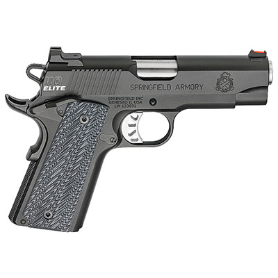"Springfield Armory 1911 Range Officer Elite Champion 9MM 4"" (2) 9rd Mags Black-T PI9137ER"