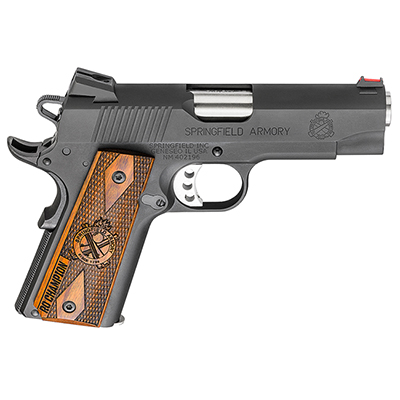 "Springfield 1911-A1 4"" 9MM LW CHAMPION RANGE OFFICER PI9137L"