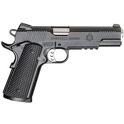 "Springfield 1911-A1 5"" .45 LOADED OPERATOR G10 GRIP PX9105LL18"