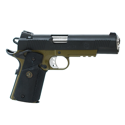"Springfield 1911-A1 5"" .45 OPERATOR MC OD/BLACK PX9105ML"