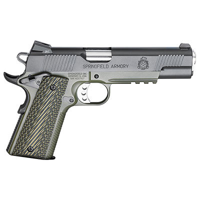 "Springfield 1911-A1 5"" .45 OPERATOR MC OD/BLACK G10 PX9110ML"