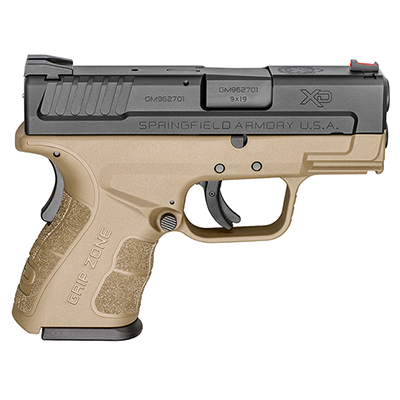 "Springfield Armory XD 9MM MOD.2  3"" FDE 10Rd XDG9801FDE"