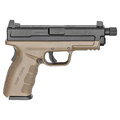 "Springfield XD 9MM MOD.2 4"" FDE THREADED XDGT9101FDEHC"