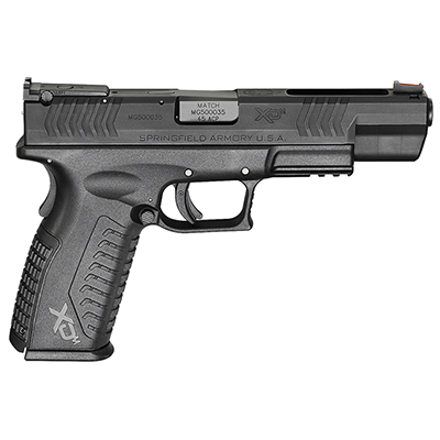 "Springfield XD(M) .45ACP 5.25"" 10Rd COMPETITION XDM952545BE"