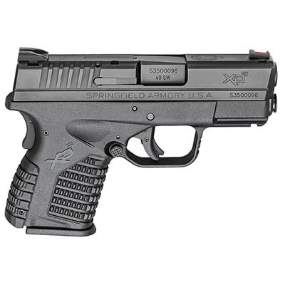 "Springfield Armory XD-S .40 S&W  3.3"" BLACK XDS93340BE"