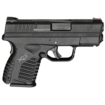"Springfield Armory XD-S .45ACP 3.3"" BLACK XDS93345BE"