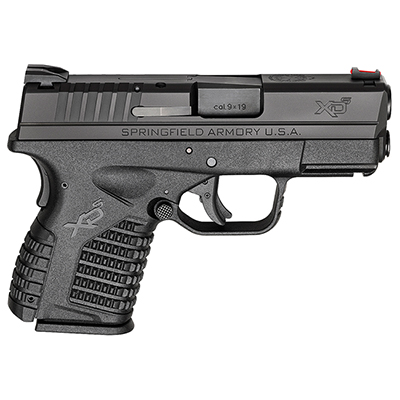 "Springfield Armory XD-S 9MM 3.3"" BLACK XDS9339BE"