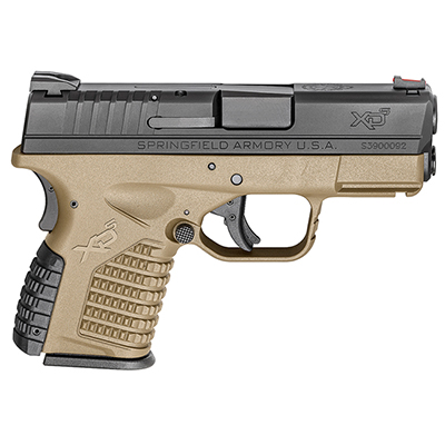 "Springfield Armory XD-S 9MM 3.3"" FDE XDS9339DEE"