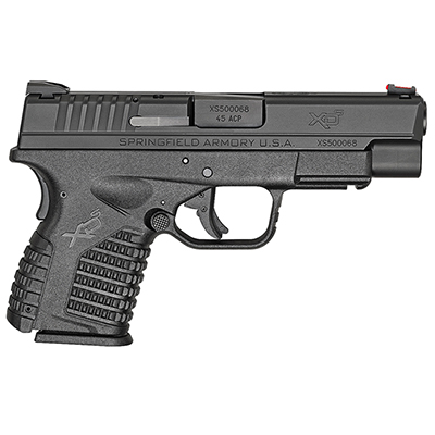 "Springfield Armory XD-S .45ACP 4"" BLACK XDS94045BE"